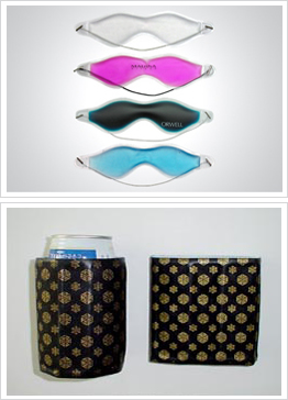 drink cooler and eye mask